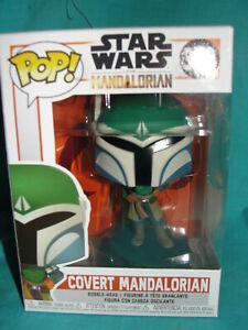 Funko Pop Star Wars Mandalorian Covert Vinyl Figure-New