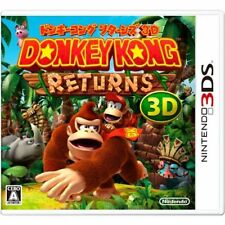 New 3DS Donkey Kong Country Returns 3D Import Japan with Tracking