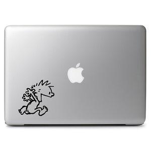 Calvin & Hobbes Naked Run Vinyl Decal Sticker for Macbook Air/Pro Laptop Cup Mug
