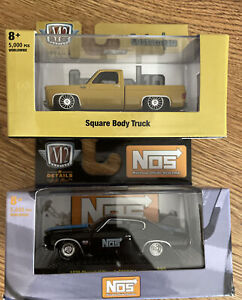 New M2 machines O'Reilly exclusive 1973 Squarebody & 1970 Chevelle