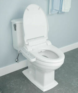 NEW!! BRONDELL Swash IS707  Electric Bidet Seat for Elongated Toilet in White