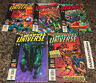 The Invaders In Marvel Universe Lot of 5 #1 through #5 1998 Avengers Stern VF-