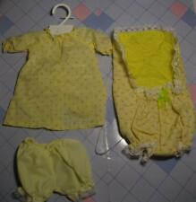 Cabbage Patch Kids Vintage~Yellow Rosebud Outfit My Child Doll IDEAL NURSERY