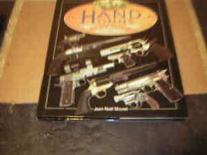 Books Rifles Hand guns and Knifles