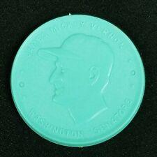 1955 Armour Baseball Coins James Mickey Vernon Washington Senators Aqua