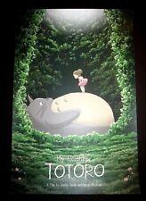 My Neighbor Totoro Print Poster Kevin Wilson Miyazaki Studio Ghibli Anime