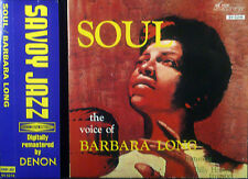 ! CD BARBARA LONG - soul, the voice of, Japan-Import