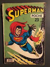 SUPERMAN POCHE (Sagedition) - T23 : juillet 1979