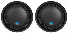 """(2) ALPINE S-W10D2 10"""" 1800 Watt Car Audio Subwoofers DVC Dual 2-Ohm Subs"""