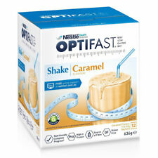 OPTIFAST VLCD SHAKE 636G CARAMEL FLAVOUR FOR WEIGHT LOSS 12 X 53G SACHETS