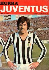 HURRA JUVENTUS=N°2 1976=SCIREA COVER=JOSE ALTAFINI=BETTEGA=TARDELLI=
