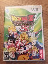 Dragon Ball Z: Budokai Tenkaichi 3 (Nintendo Wii, 2007) Nice NG2