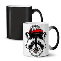 Whatever Raccoon Animal NEW Colour Changing Tea Coffee Mug 11 oz | Wellcoda