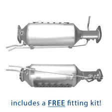 Diesel Particulate Filter DPF for Ford Mondeo Galaxy 2.0 2.2 TDCi + Fitting Kit