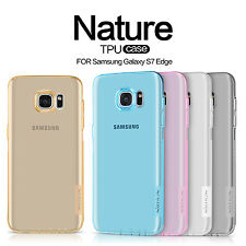 NILLKIN Matte Bumper Nature TPU Silicone Cases Covers For Samsung Galaxy S7 Edge