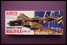 VINTAGE First Issue AIRFIX HANDLEY PAGE HALIFAX B.MK.III 1:72 MODEL KIT 584