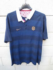 VINTAGE Maillot rugby QUINZE de FRANCE NIKE rétro shirt L héritage collection