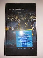 Echo & The Bunnymen Crystal Days 1979-1999 4 Cd Set Rhino Label Sealed