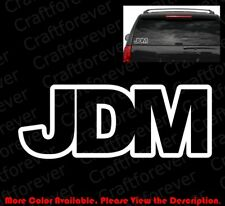 JDM Japanese Domestic Market Vinyl Die Cut Racing Decal  RC072