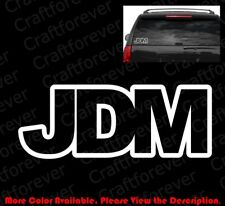 OUTLINE Only JDM Japanese Domestic Market Vinyl Decal Motor Sports Racing RC072