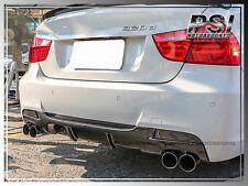 E90 M- Tech Carbon Fiber Bumper Rear Diffuser 4Dr 06-11 BMW P-Style M-Sports