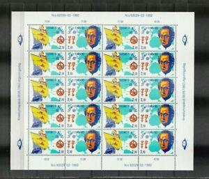 s37762 FINLAND  EUROPA CEPT MNH** 1992 MS