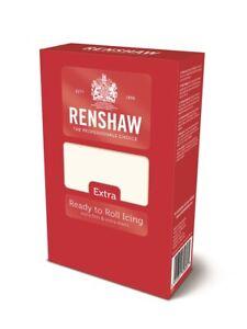 Renshaw Fondant Extra 1 Kg weiß elastisch Rollfondant Motivtorten
