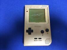 P6944 Nintendo Gameboy pocket console Gold GBP Japan Junk For parts Express