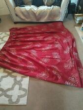 Red Curtains 70 X 88