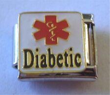 9mm Italian Charm E61  Diabetes Medical Diabetic