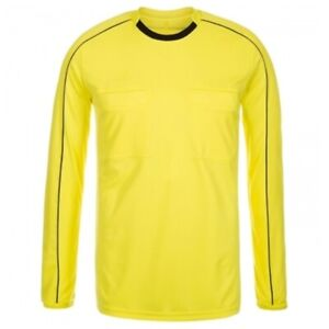 adidas Referee 16 Jersey Long Sleeve LS Soccer Handball Yellow Black AH9803 2XL