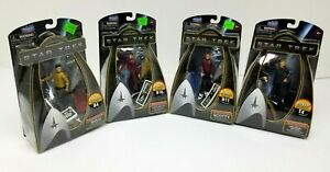 Lot of 4 Star Trek - Galaxy Collection -Action Figures - 2009 New In Box