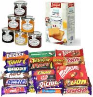 Huge 21 Bar Assorted Chocolate Box Hamper Cadbury Lindt Nestle/6 Tiptree & toast