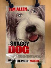 """THE SHAGGY DOG"" ORIGINAL STUDIO ISSUE 27X40ish POSTER"
