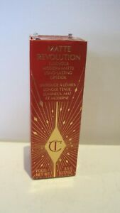 CHARLOTTE TILBURY - Matte Revolution - Matte Lipstick - Rose Wish - Genuine 3.5g