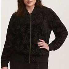 371296a2d3b Velvet Floral Plus Size Coats   Jackets for Women