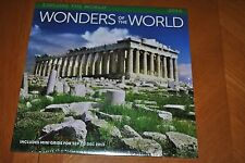 WONDERS OF THE WORLD 2014 CALENDAR EXPLORE THE WORLD GREAT FOR FRAMING PICTURES
