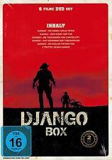 DOPPEL-DVD NEU/OVP - Django Box - 6 Filme DVD set