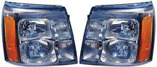 SIDE/PAIR for 2002 Cadillac Escalade Front Headlight Assembly Replacement