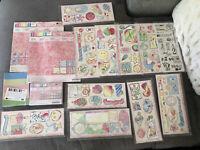 Creative Memories Gazebo Bundle Lot Perfect Fit Paper Stickers Storybox
