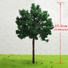 D16090 4-16pcs G O Scale Model Train Layout Trees Roadside Green Tree 1:25 16cm