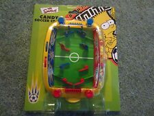 SIMPSONS CANDY SOCCER CRAZY GAME 2003 BY BON BON BUDDIES IN WHALES RARE