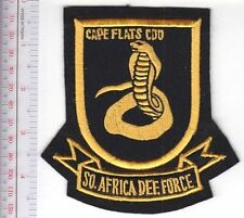South Africa Defence Force SADF South African Army Cape Flats Commando