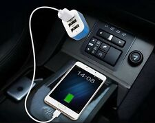 3 port Rapid USB Car Charger Cigarette Charger for Apple Samsung Sony LG HTC UK