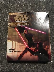Star Wars Legacy Of The Force Invincible Audio Book CD