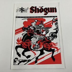 VTG 1986 Shogun Board Game Replacement Pieces German Instruction Manual