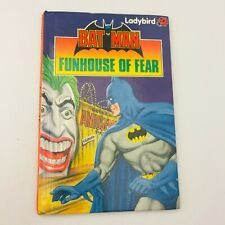 FUNHOUSE OF FEAR Batman Ladybird Story Book First Edition Batman Robin Joker