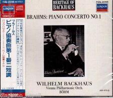 Brahms: Piano Concerto N.1 / Wilhelm Backhaus, Karl Bohm - CD London Japan