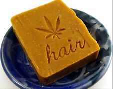 Citrus Bay Rum Patchouli Hemp Vegan Shampoo Bar by Aquarian Bath