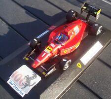 Ferrari F1 1/43 641 1990 HandBuilt PROST 100 Victory FDS France box Vetrinetta
